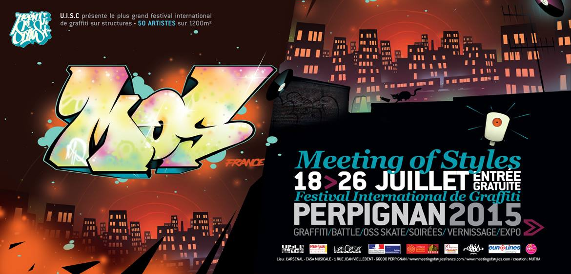 Meeting of Styles France 2015